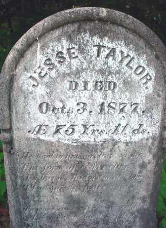TAYLOR, JESSE - Essex County, New York | JESSE TAYLOR - New York Gravestone Photos