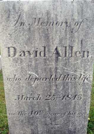 ALLEN, DAVID - Fulton County, New York | DAVID ALLEN - New York Gravestone Photos