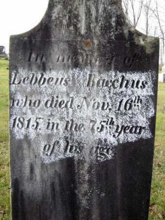 BACCHUS, LEBBEUS - Fulton County, New York   LEBBEUS BACCHUS - New York Gravestone Photos