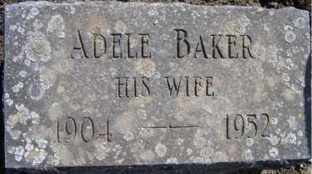 BAKER, ADELE - Fulton County, New York   ADELE BAKER - New York Gravestone Photos