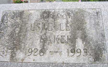 BAKER, ESTELLE C. - Fulton County, New York | ESTELLE C. BAKER - New York Gravestone Photos