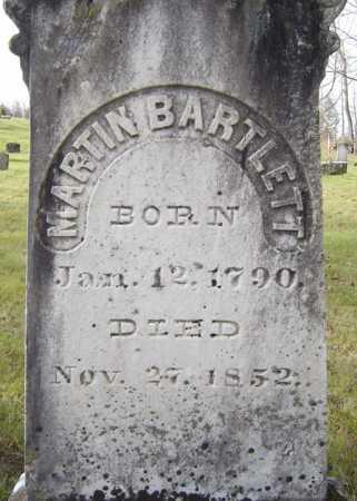 BARTLETT, MARTIN - Fulton County, New York | MARTIN BARTLETT - New York Gravestone Photos