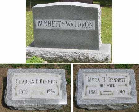 BENNETT, CHARLES F. - Fulton County, New York | CHARLES F. BENNETT - New York Gravestone Photos
