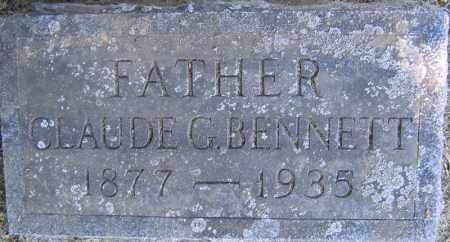 BENNETT, CLAUDE G. - Fulton County, New York | CLAUDE G. BENNETT - New York Gravestone Photos