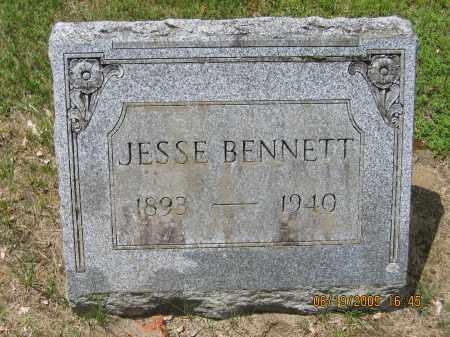 BENNETT, JESSE - Fulton County, New York | JESSE BENNETT - New York Gravestone Photos
