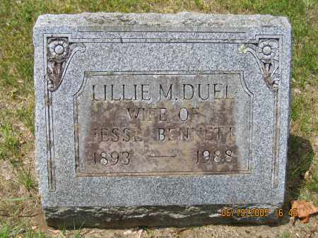 DUEL, LILLIE M - Fulton County, New York | LILLIE M DUEL - New York Gravestone Photos