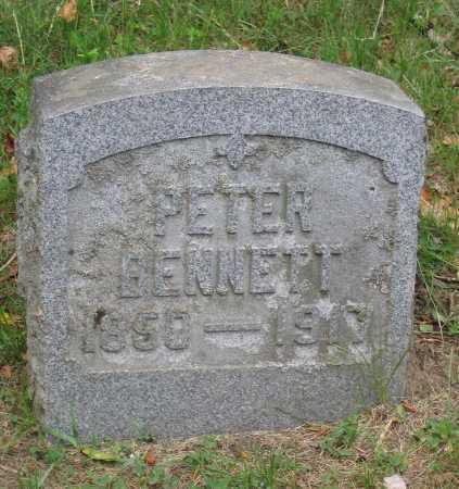 BENNETT, PETER - Fulton County, New York   PETER BENNETT - New York Gravestone Photos