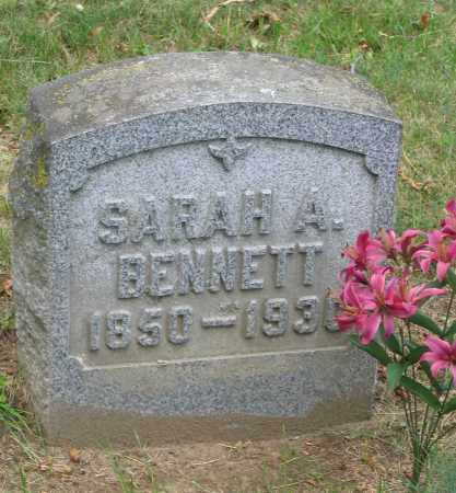 BENNETT, SARAH ALIVE - Fulton County, New York | SARAH ALIVE BENNETT - New York Gravestone Photos