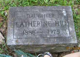 HIO BROTHERS, CATHERINE - Fulton County, New York | CATHERINE HIO BROTHERS - New York Gravestone Photos