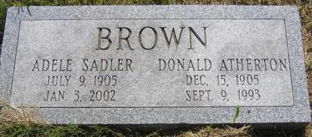 BROWN, DONALD A - Fulton County, New York | DONALD A BROWN - New York Gravestone Photos