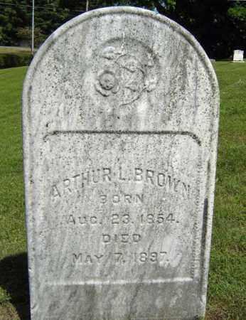 BROWN, ARTHUR L - Fulton County, New York   ARTHUR L BROWN - New York Gravestone Photos