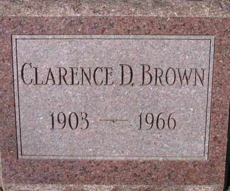 BROWN, CLARENCE D. - Fulton County, New York | CLARENCE D. BROWN - New York Gravestone Photos