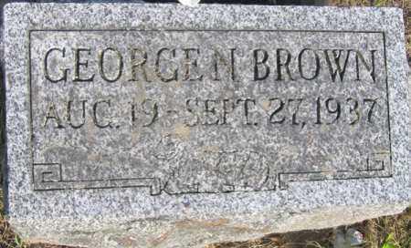 BROWN, GEORGE N. - Fulton County, New York | GEORGE N. BROWN - New York Gravestone Photos
