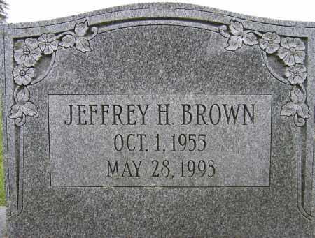 BROWN, JEFFREY H - Fulton County, New York | JEFFREY H BROWN - New York Gravestone Photos