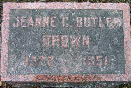 BROWN, JEANNE C. - Fulton County, New York | JEANNE C. BROWN - New York Gravestone Photos