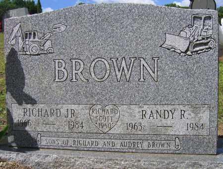 BROWN, RANDY R. - Fulton County, New York | RANDY R. BROWN - New York Gravestone Photos