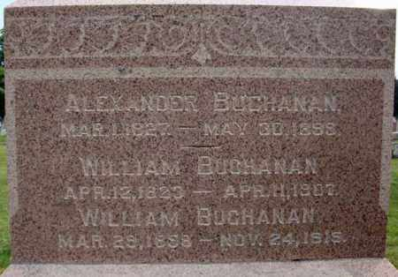 BUCHANAN, WILLIAM - Fulton County, New York | WILLIAM BUCHANAN - New York Gravestone Photos