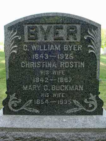 BYER, MARY C - Fulton County, New York | MARY C BYER - New York Gravestone Photos