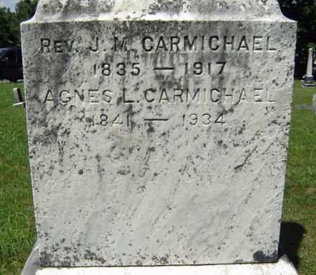 CARMICHAEL, J M - Fulton County, New York | J M CARMICHAEL - New York Gravestone Photos