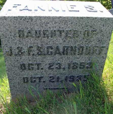 CARNDUFF, FANNIE S - Fulton County, New York | FANNIE S CARNDUFF - New York Gravestone Photos