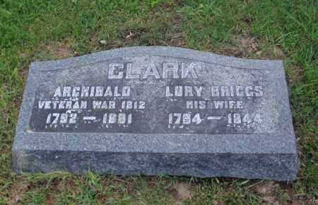BRIGGS CLARK, LURY - Fulton County, New York | LURY BRIGGS CLARK - New York Gravestone Photos