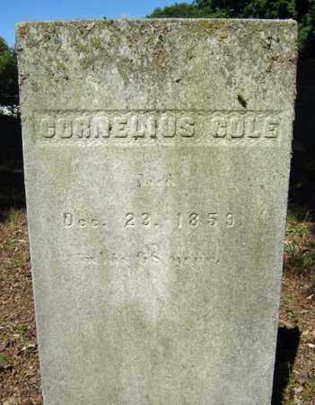 COLE, CORNELIUS - Fulton County, New York   CORNELIUS COLE - New York Gravestone Photos