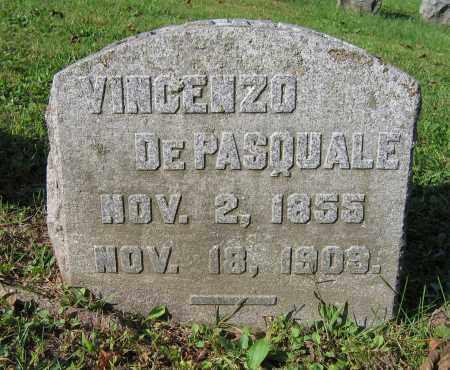 DEPASQUALE, VINCENZO - Fulton County, New York   VINCENZO DEPASQUALE - New York Gravestone Photos