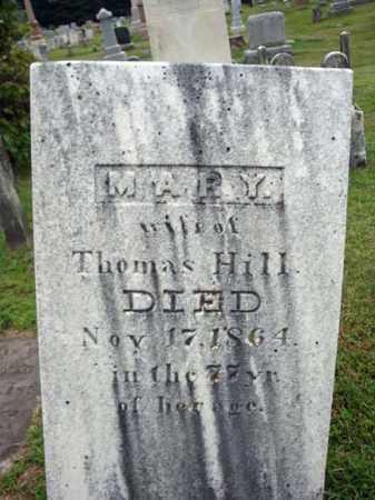 HILL, MARY - Fulton County, New York | MARY HILL - New York Gravestone Photos