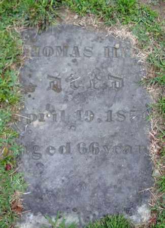 HILL, THOMAS - Fulton County, New York | THOMAS HILL - New York Gravestone Photos
