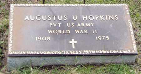 HOPKINS, AUGUSTUS U - Fulton County, New York   AUGUSTUS U HOPKINS - New York Gravestone Photos