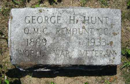 HUNT, GEORGE H - Fulton County, New York | GEORGE H HUNT - New York Gravestone Photos