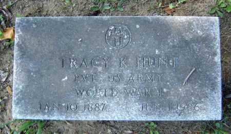 HUNT, TRACY K - Fulton County, New York | TRACY K HUNT - New York Gravestone Photos