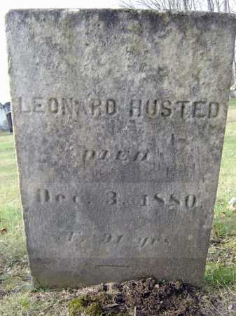 HUSTED, LEONARD - Fulton County, New York   LEONARD HUSTED - New York Gravestone Photos