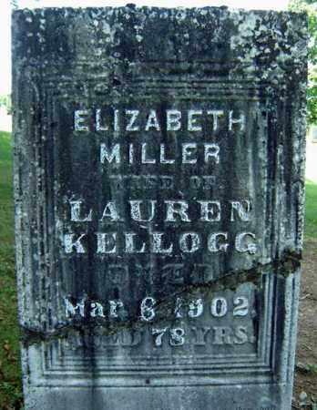 KELLOGG, ELIZABETH - Fulton County, New York | ELIZABETH KELLOGG - New York Gravestone Photos