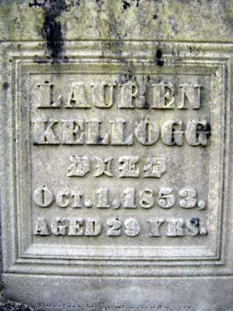 KELLOGG, LAUREN - Fulton County, New York | LAUREN KELLOGG - New York Gravestone Photos