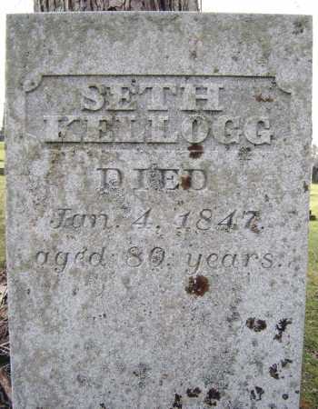 KELLOGG, SETH - Fulton County, New York | SETH KELLOGG - New York Gravestone Photos