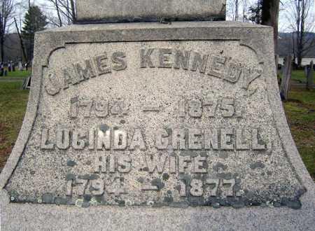 KENNEDY, LUCINDA - Fulton County, New York | LUCINDA KENNEDY - New York Gravestone Photos