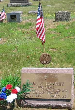 LAVALEE, KARL J - Fulton County, New York | KARL J LAVALEE - New York Gravestone Photos
