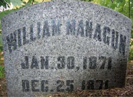 MANAGUN, WILLIAM - Fulton County, New York | WILLIAM MANAGUN - New York Gravestone Photos