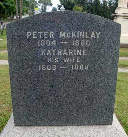 MCKINLAY, KATHARINE - Fulton County, New York | KATHARINE MCKINLAY - New York Gravestone Photos