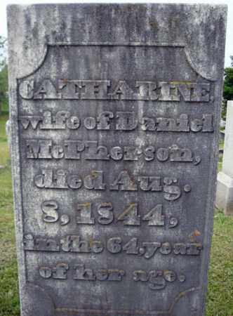 MCPHERSON, CATHARINE - Fulton County, New York | CATHARINE MCPHERSON - New York Gravestone Photos