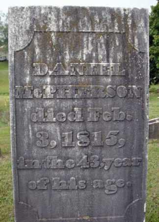 MCPHERSON, DANIEL - Fulton County, New York   DANIEL MCPHERSON - New York Gravestone Photos