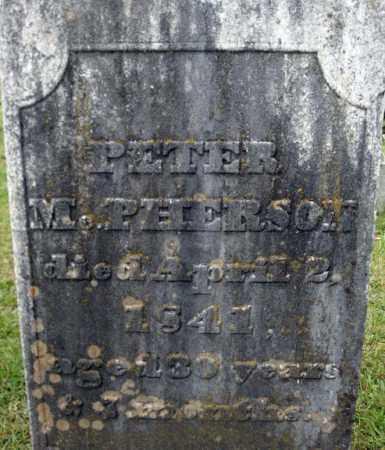 MCPHERSON, PETER - Fulton County, New York | PETER MCPHERSON - New York Gravestone Photos