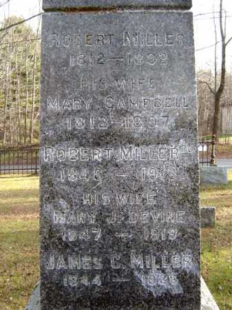 MILLER, JAMES C - Fulton County, New York | JAMES C MILLER - New York Gravestone Photos