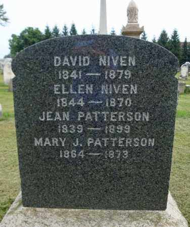 NIVEN, DAVID - Fulton County, New York | DAVID NIVEN - New York Gravestone Photos