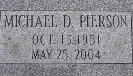 PIERSON, MICHAEL D. - Fulton County, New York | MICHAEL D. PIERSON - New York Gravestone Photos