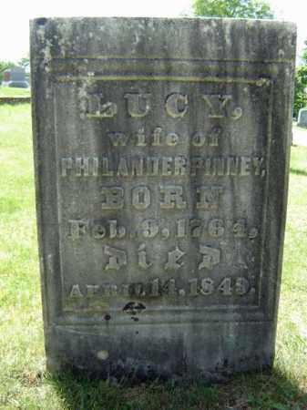 PINNEY, LUCY - Fulton County, New York | LUCY PINNEY - New York Gravestone Photos