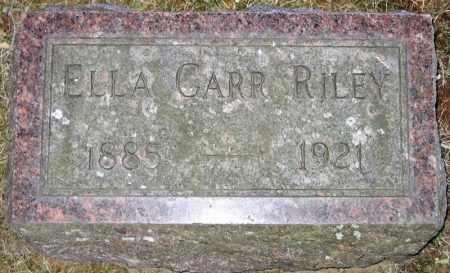CARR, EDNA - Fulton County, New York | EDNA CARR - New York Gravestone Photos