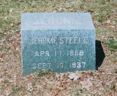 STEELE, JEROME - Fulton County, New York   JEROME STEELE - New York Gravestone Photos