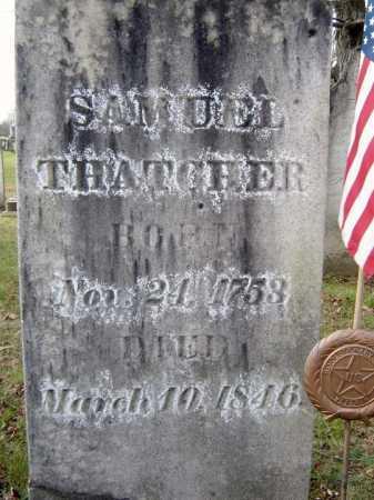 THATCHER (RW), SAMUEL - Fulton County, New York | SAMUEL THATCHER (RW) - New York Gravestone Photos